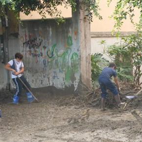Barcellona, 22 novembre. Cementificazione selvaggia e poi un mare di fango