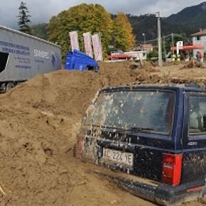 Liguria, l'alluvione non ferma il cemento. A Brugnato arriva un mega outlet