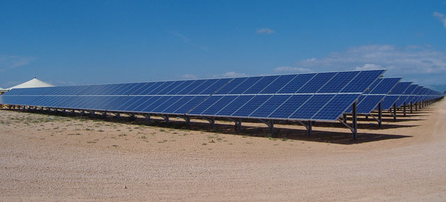 Un grande impianto fotovoltaico a San Marco In Lamis (Fg)