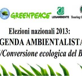 Agenda Ambientalista: più di 1 milione di persone hanno finalmente il loro programma