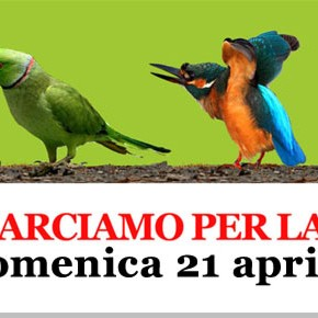 21 aprile 2013: marcia per la terra di &quot;Salviamo il Paesaggio&quot;