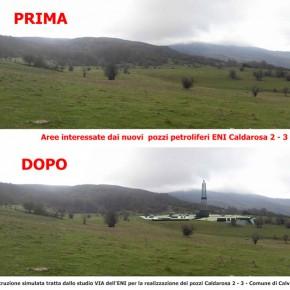 Appennino Lucano: la Regione autorizza nuovi pozzi ENI a Caldarosa