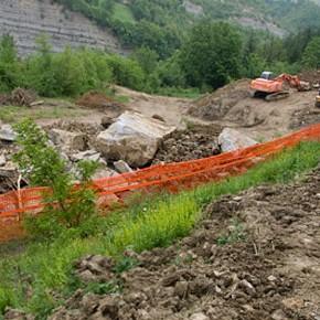 La mano pesante del nuovo idroelettrico sul Torrente Alferello