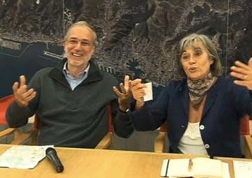 Genova Urban Lab - Intervista a Renzo Piano e Marta Vincenzi Conferenza 29 settembre 2007, Genova, Galata Museo del Mare
