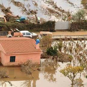 Sardegna: speculazione edilizia e caos climatico, altro che tragedia!