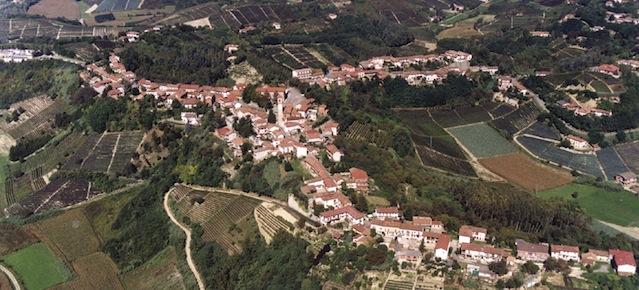 Paesaggio del Comune di Vinchio (AT).