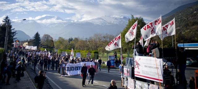 Marcia del popolo NoTav a Susa
