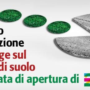Legge sul consumo di suolo: chiediamo l'approvazione prima di EXPO 2015!