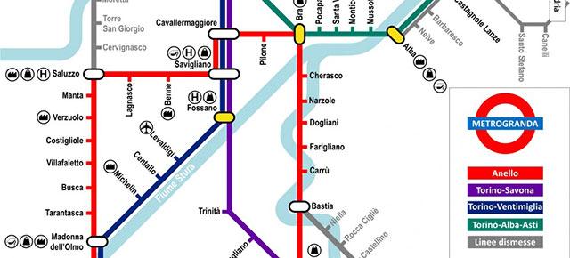 Metrogranda: un'occasione per la mobilità sostenibile in provincia di Cuneo