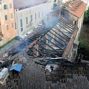 Incendio doloso alla Cavallerizza Reale: 'Ndrangheta e Medioevo?