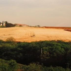 Land grabbing e distruzione del territorio collinare
