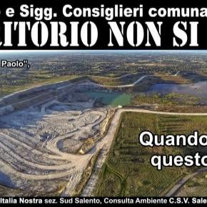 Cava di Cutrofiano (Salento): qui si massacra il territorio per un piatto di lenticchie