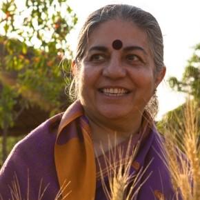 Vandana Shiva in difesa della nuova legge urbanistica della Regione Toscana, bloccata dal Governo Renzi