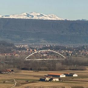 Progetto di rifacimento e sopraelevazione autostrada Torino-Aosta nodo idraulico Ivrea