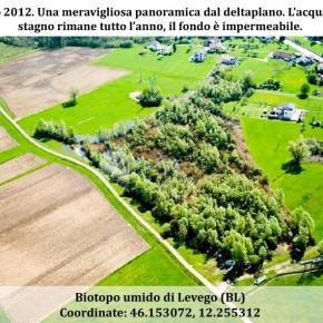 Biotopo umido di Levego (BL), dall'origine alla distruzione (breve cronistoria per immagini)