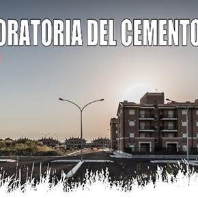 """ROMA 12 ottobre 2015, conferenza stampa: """"PER UNA MORATORIA DEL CEMENTO"""""""