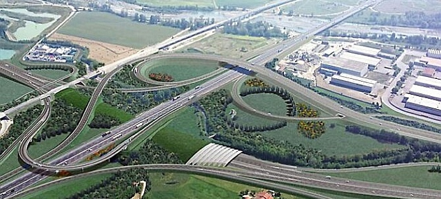 Ti-Bre: un'autostrada cancella la campagna del Parmigiano-Reggiano