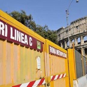 """Metro C: un progetto senza garbo che """"consuma"""" via dei Fori imperiali"""