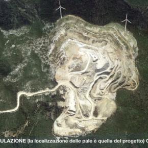 Pale eoliche su Monte Calvi