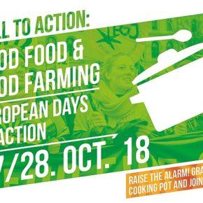Appello alla mobilitazione per sostenere il buon cibo e la buona agricoltura!