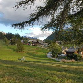 In Alta Valle di Susa ipotesi di paesaggio con condomini...