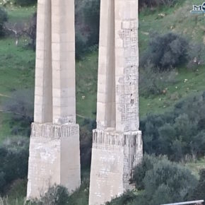 Il ponte Morandi di Agrigento è ormai chiuso da 1.000 giorni!