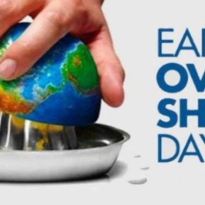 Earth Overshoot Day 2020: quest'anno cade il 22 agosto. La pandemia rallenta la corsa del Pianeta verso il baratro