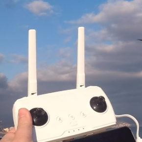 Droni in volo sul Po, i corrieri del futuro