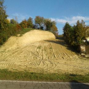 Bra: sfregio alla collina di San Matteo