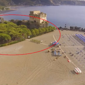 Praia a Mare: l'area antistante la torre di Fiuzzi torni subito ai cittadini