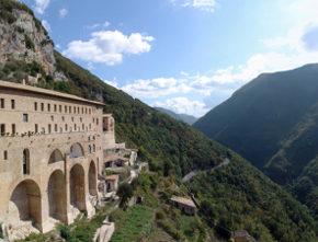 La scheda di Occhio al paesaggio: il paesaggio del Sacro Speco (Subiaco, Roma)